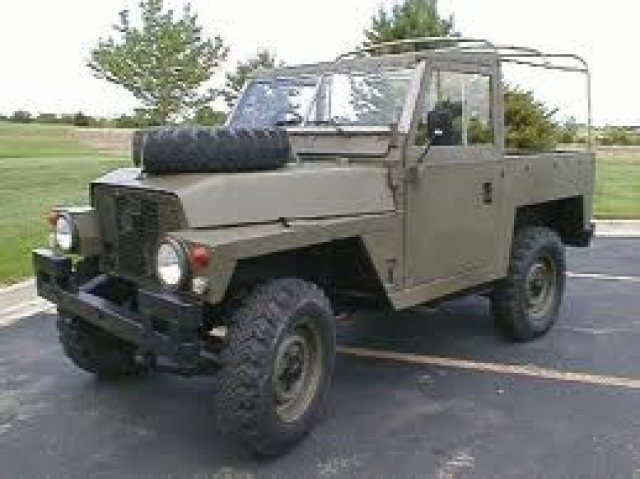 1970 Land Rover Series III Lightweight