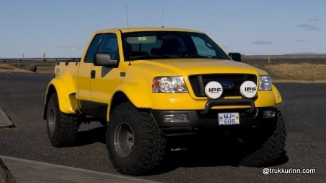 2004 Ford F-150 FX4 Flairside